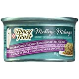 Purina Fancy Feast Medleys White Meat Chicken Tuscany with Long Grain Rice & Garden Greens in a Savoury Sauce Cat Food 85g Can