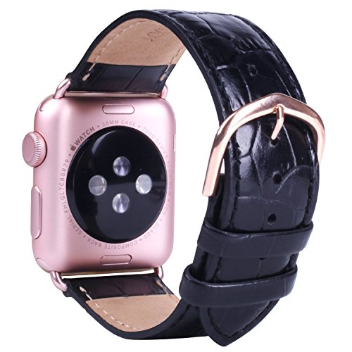 JSGJMY Leather Replacement iWatch Buckle