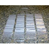 "1000 - 3"" x 4"" CLEAR 2 mil PLASTIC ZIPLOCK BAGGIES NEW"
