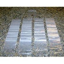 """1000 - 3"""" x 4"""" CLEAR 2 mil PLASTIC ZIPLOCK BAGGIES NEW"""