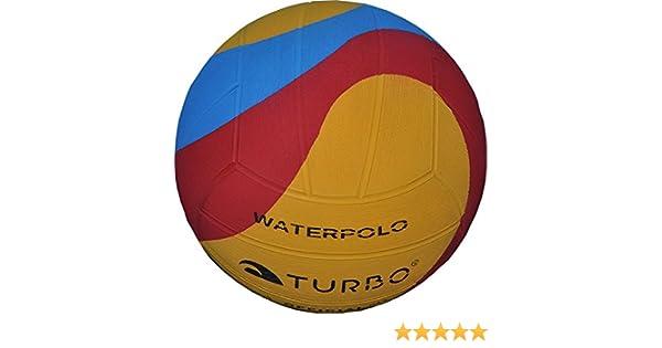 Turbo pelotas de agua Water Polo tamaño 4 mujeres + juvenil Balón ...