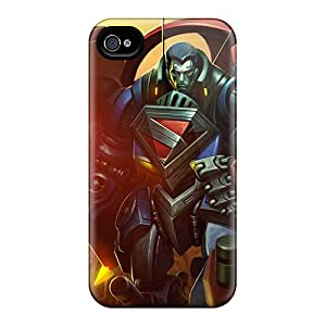 For Iphone Case, High Quality Mecha Superman Infinite Crisis For Iphone 4/4s Cover Cases
