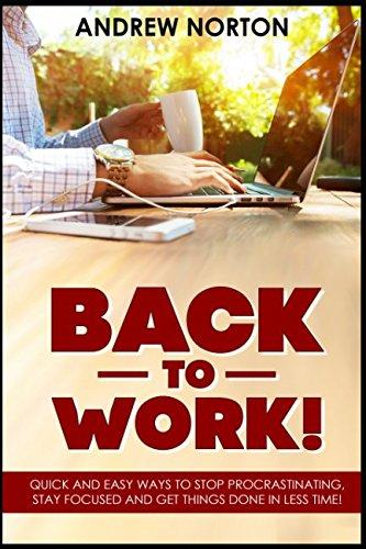 BACK WORK PROCRASTINATING FOCUSED THINGS product image