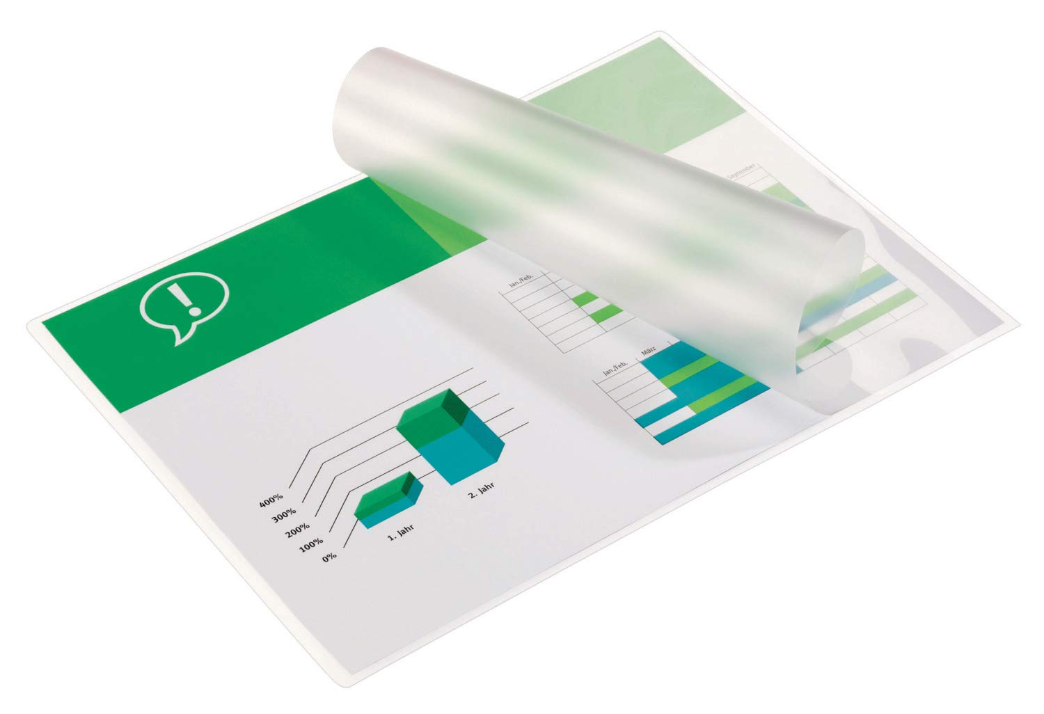 GBC 3200725 A3 2 x 125 Micron Gloss Laminating Pouches Pack of 100