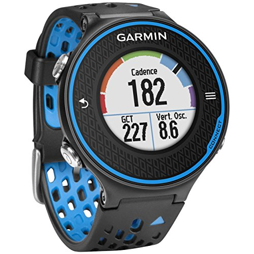 Garmin Forerunner 620 GPS Sport Fitness Running Watch - Black/blue (Certified Refurbished) by Garmin