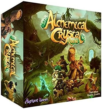 Mystical Games Alchemical Crystal Quest (Castellano) Juego DE Mesa ...