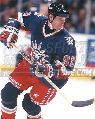 Wayne Gretzky New York Rangers third jersey legend 8x10 11x14 16x20 photo 967 - Size ()