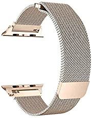 iGuard by Porodo Mesh Band for Apple Watch 44mm / 42mm - Gold