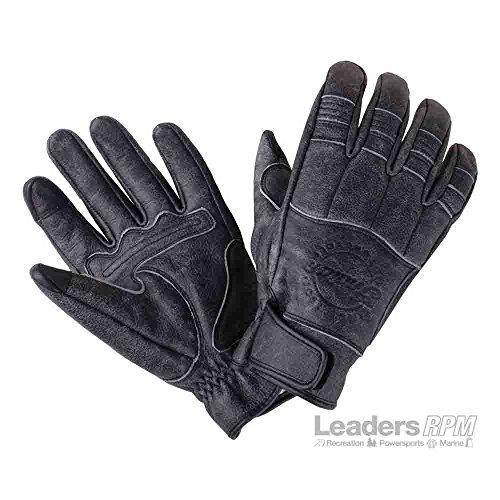 Indian Motorcycle New OEM Mens Hedstrom Gloves, 2XL, Black, 286522312