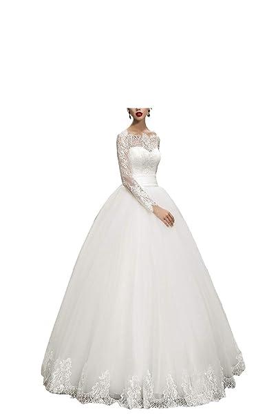 Amazon.com: Boda Dazzle vestidos de novia vestido de baile ...