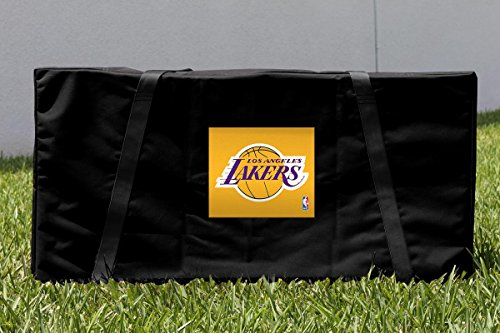 Victory Tailgate Los Angeles LA Lakers NBA Cornhole Carrying Case by Victory Tailgate