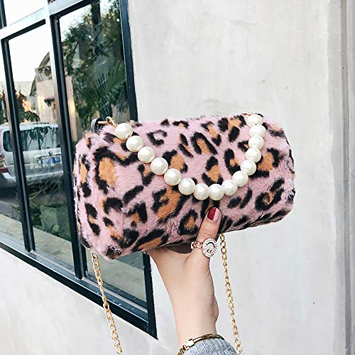 Casual Tracolla Donna Da Yunyoud A Rosa Leopardata Piccola Design Fashion Mano Di Borsa Moda ZqZwUxz8
