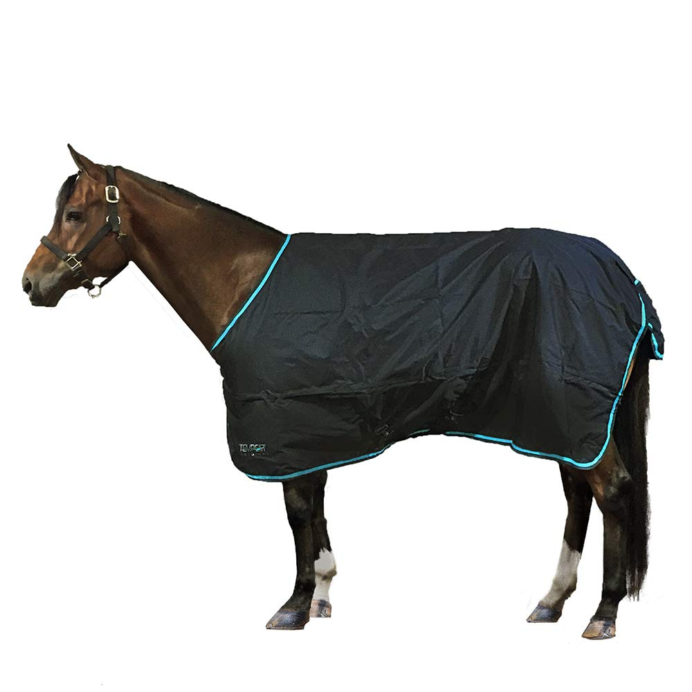 Shires Tempest Original Lite, Charcoal/Turquoise, 81'' by Shires