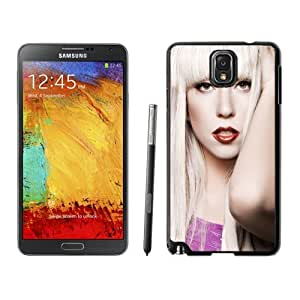 Beautiful Custom Designed Cover Case For Samsung Galaxy Note 3 N900A N900V N900P N900T With Lady Gaga White Hair Phone Case WANGJING JINDA