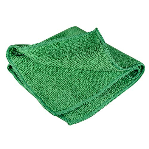 Towels by Doctor Joe Ultra-05 Heavy-Weight Green 12″ x 12″ Terry Microfiber Detailing Towel – 12 Pack