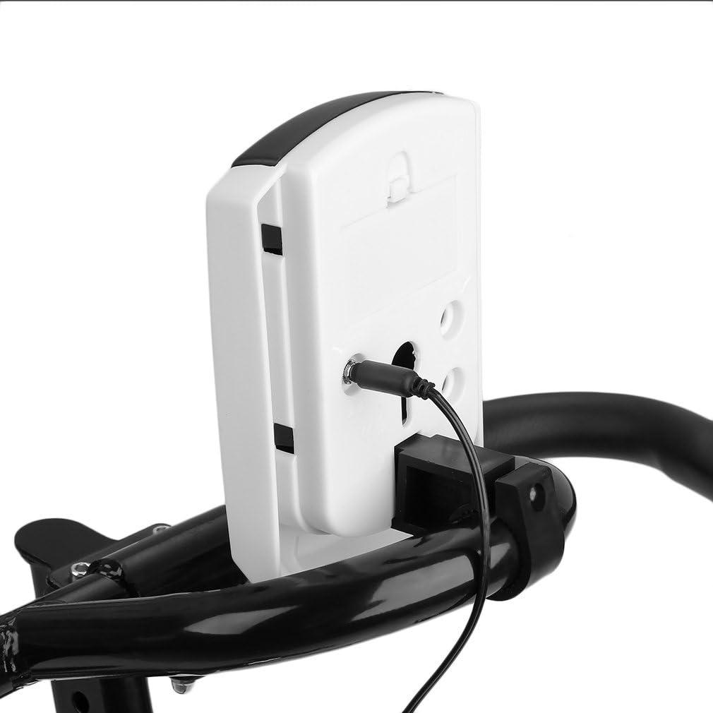 Poids de lutilisateur jusqu/à 120 kg Fitness p/édale Alter-C-DJ V/élo dappartement Professionnel pour int/érieur avec /écran LCD