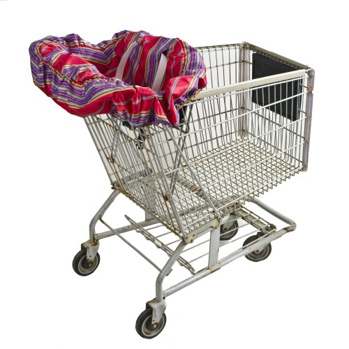 Wupzey Shopping Cart and Diner Seat Cover Red Stripe (Discontinued by Manufacturer) / Wupzey Shopping Cart and Diner Seat Cover Red Stripe (Discontinued by Manufacturer)