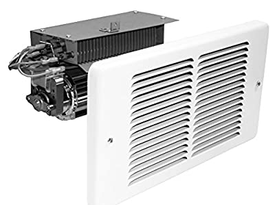 King Electric PAW2422I Pic-A-Watt Wall Heater Interior And Grill, 2250W Max, 240V, Compact, White