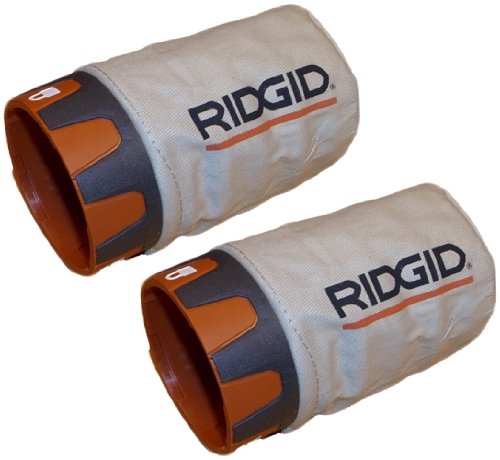 2 Pack Ryobi R2601 Replacement Dust Bag # 300027081