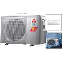 Mitsubishi 20,000 BTU Dual Zone Ductless Split System HYPER HEAT Outdoor Unit Only up to 19.0 SEER Heats Below 0 ENERGY STAR
