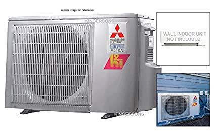 Mitsubishi 36,000 BTU Dual Zone Ductless Split System HYPER HEAT Outdoor Unit Only up to 19.0