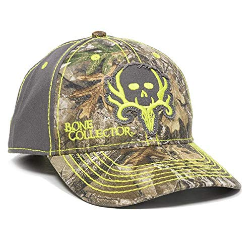 Bone Collector Realtree Edge/Charcoal Adult Hunting Hat