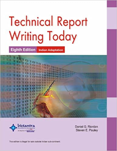 Book writing technical report