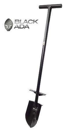 "Pala de acero a ""T Gladius Black Ada Metal Detector afilada serrada"