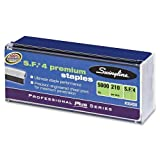 Wholesale CASE of 25 - Swingline S.F.4 All Premium Standard Staples-Staples, S.F.4, 1/4''L, 5000/BX