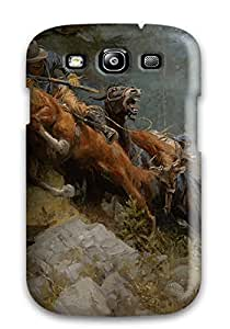 New Style durable Protection Case Cover For Galaxy S3(wild West Painting)