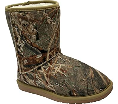26259a35fb8f4 Amazon.com | DAWGS Women's Mossy Oak 9-Inch Aussie Boot | Snow Boots