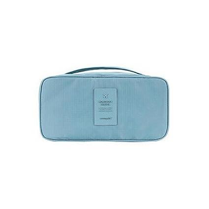YB portátil proteger sujetador ropa interior lencería de viaje para cosméticos organizador impermeable bolsa, nailon