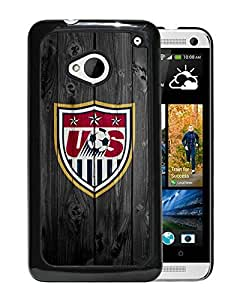 Customized USA Soccer 10 HTC One M7 Black Case
