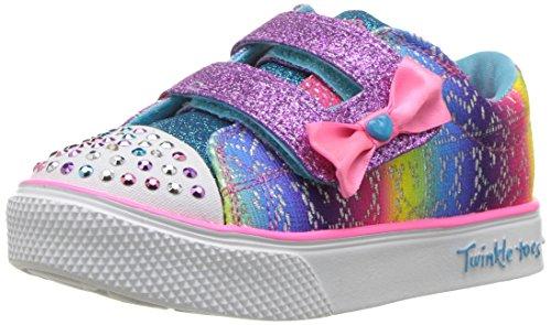 Skechers Kids Girls' Twinkle Breeze 2.0-Colorful Sneaker,Multi,10 Medium US Toddler by Skechers