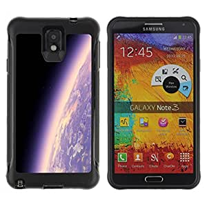 CAZZ Rugged Armor Slim Protection Case Cover Shell // Space Planet Galaxy Stars 17 // Samsung Note 3