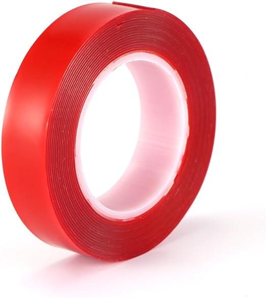 Donpow Cinta acr/ílica de doble cara adhesivo transparente de alta resistencia adhesiva adhesiva resistente al calor sin residuos Reparaci/ón de adhesivo de alta resistencia para el autom/óvil