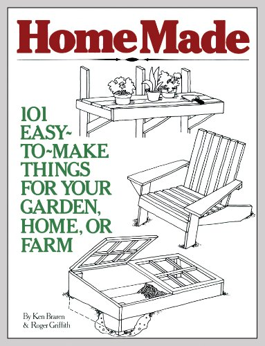 HomeMade: 101 Easy-to-Make Things for Your Garden, Home, or Farm (Homemade Make Things To)
