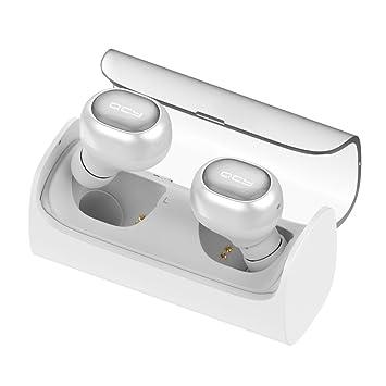 Auriculares Bluetooth 4.1 Mini Cascos Inalambricos con Micrófono Soporte Técnico de Llamadas con Manos Libres para iPhone, iPad, Huawei y Android smartphone ...