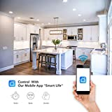 Smart Wifi Bulb Socket With Wireless Switch, Remote Control Light Bulb Holder Compatible with Alexa and Google Home - Inno Gene