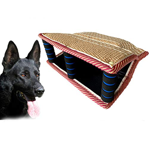 FXQIN Dog Training Bite Sleeves Safe And Durable Pet Bite Pillow With 3 Handle Fit For Pitbull German Shepherd Puppy Biting Playing