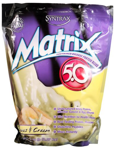 Syntrax Matrix® 5.0 Bananas and Cream -- 5 lbs - 3PC by Syntrax