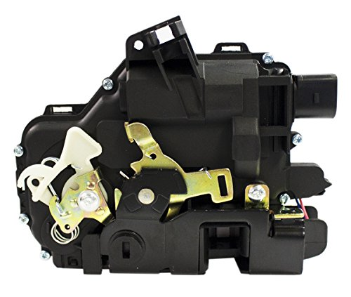 Jetta Door Left Rear (Rear Left Driver Side Door Lock Actuator for 1998-2010 Volkswagen Beetle Golf Jetta Passat Rabbit GTI 6PIN)