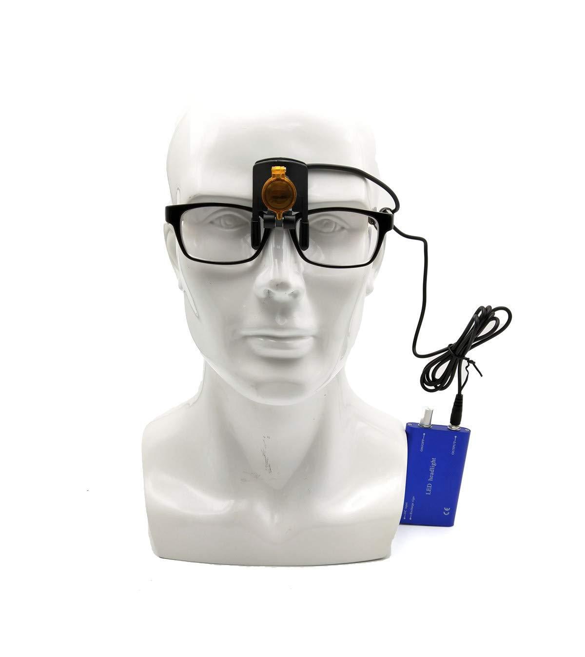 tragbar Mike Mundarztleuchte 3 W Blau LED