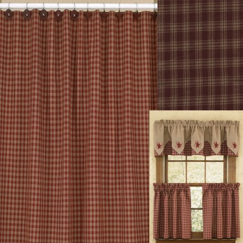 Compare Price: checkered shower curtain - on Statements Ltd