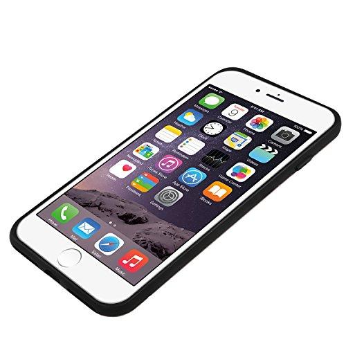 Macally kstandp7m-rs PC/TPU Fall mit Ständer und Kartenslot für iphone 7–Rose