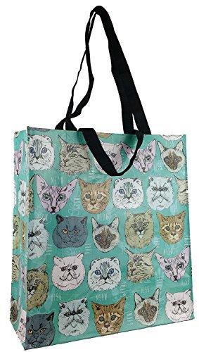 Rowdy Goose Quirky Cat Reusable Shopping Bag