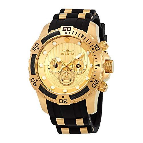 Multifunction Gold Dial (Invicta Men's 26179 Star Wars Quartz Multifunction Gold Dial Watch MODEL 26179)