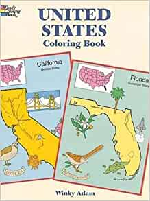 United States Coloring Book Dover History Coloring Book Winky