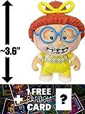 Ghastly Ashley: ~3.6'' Garbage Pail Kids x Funko Mystery Minis Mini-Figure Series #1 + 1 FREE GPK Trading Card/Sticker Bundle [55387]