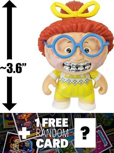 Ghastly Ashley: ~3.6'' Garbage Pail Kids x Funko Mystery Minis Mini-Figure Series #1 + 1 FREE GPK Trading Card/Sticker Bundle [55387] by Garbage Pail Kids